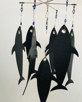 12″ BUDGET DREDGE -12″ Tuna Flaps (Seven)